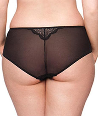 Curvy Kate Roxie Short Knickers - Black/Sherbet Knickers