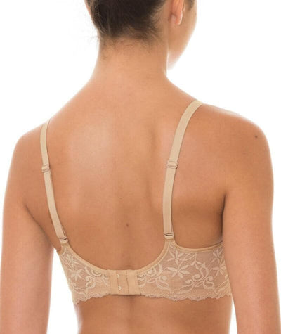 Triumph Gorgeous Mama Lace Maternity & Nursing Bra - Nude - Back