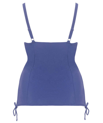 Curvy Kate Jetty Balcony Tankini Top - Navy