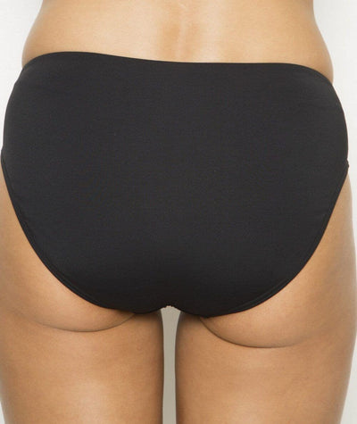 Nip Tuck Bikini Brief Plains - Black Swim