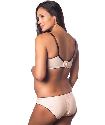 Hotmilk Show Off Bikini Brief - Silver Peony Knickers