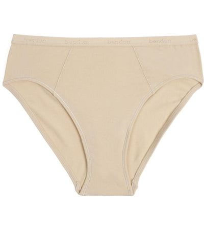 Bendon Body Cotton High Cut Brief - Natural Knickers