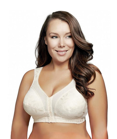Playtex Front Fastening Comfort Shoulder Strap Bra - Light Beige