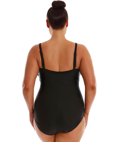 Capriosca Underwire Bandeau One Piece - Iris Placement Swim