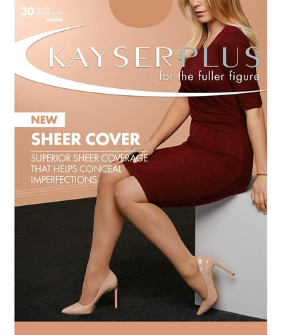 Kayser Sheer Cover Plus - Ink Navy Hosiery 1