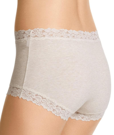 "Jockey Women Parisienne Cotton Marle Full Brief - Vanille ""Back"""