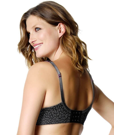Hotmilk Untamed Nursing Bra - Black Bras