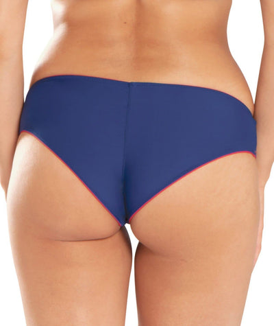 Curvy Kate Peachy Pairs Reversible Short - Navy / Red