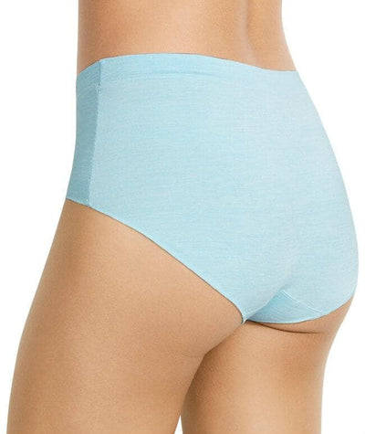 Berlei Barely There Strata Full Brief - Calm Blue - Back