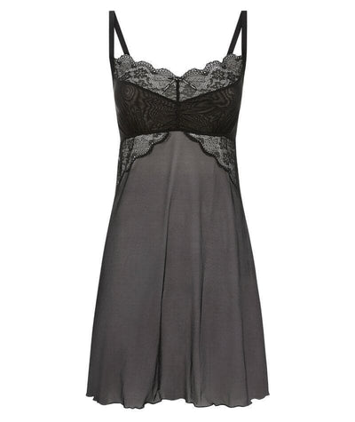 Freya Fancies F-G Cup Sheer Chemise Dress - Black