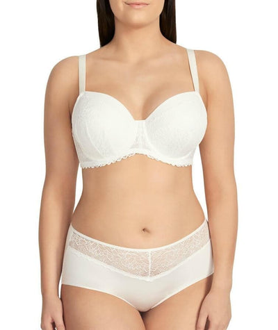 Berlei Luxury Lace Full Brief - Ivory - Model - Front