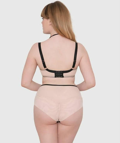 Scantilly Knock Out Brief - Latte - Model - Back