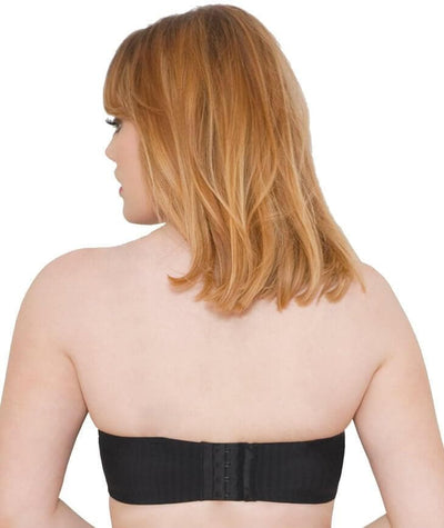 Curvy Kate Luxe Strapless Bra - Black - Back