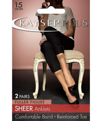 Kayser Plus Sheer Anklets
