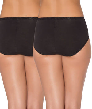 Sloggi Hipster 2 Pack - Black