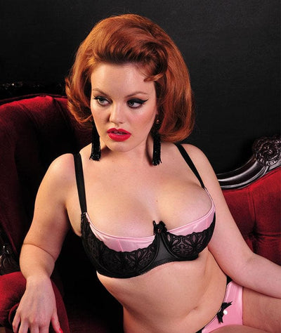 Scantilly Invitation Bra -Black/Crystal