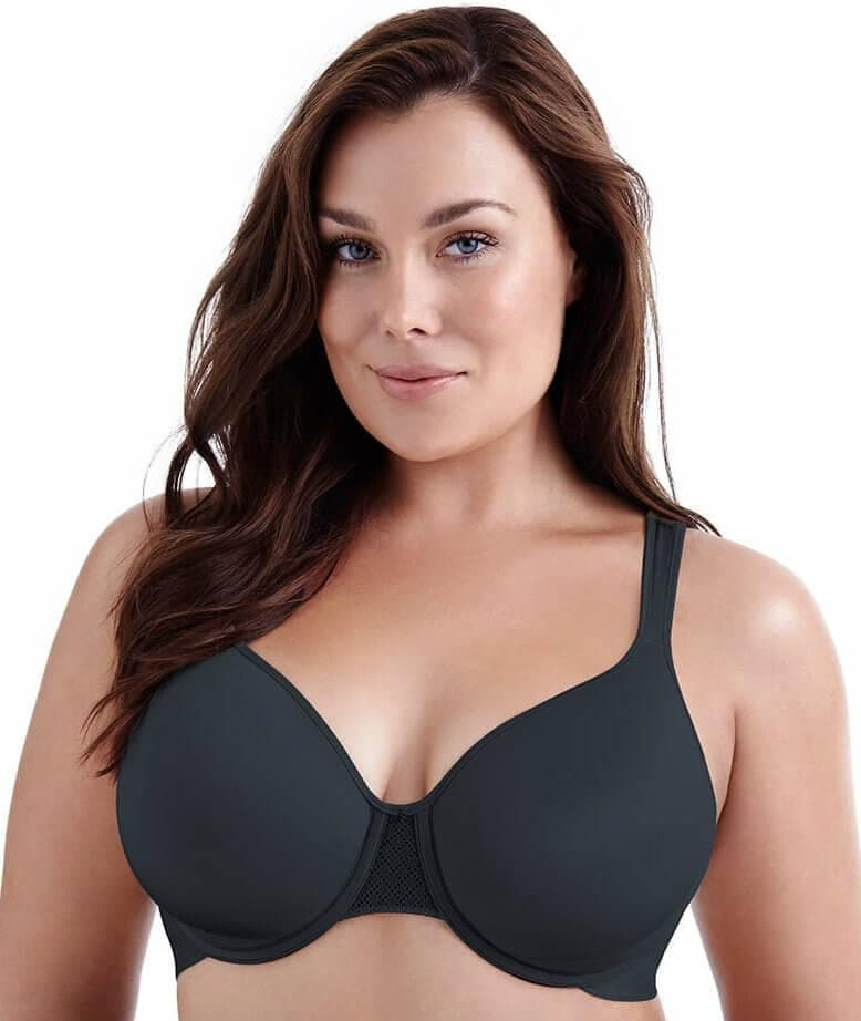 fbf83e3cecbc4 Playtex Perfect Lift Underwire Bra - Black - Front