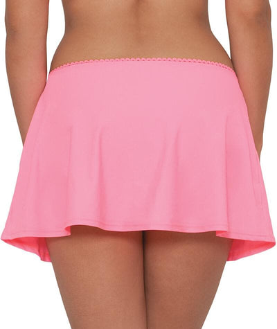 Curvy Kate Jetty Swim Skirt - Flamingo Swim
