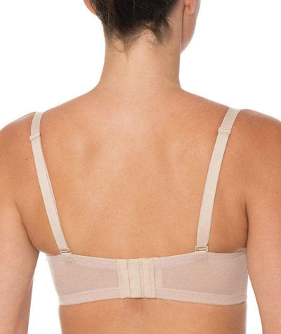 Triumph Beautiful Silhouette Strapless Convertible Bra - Nude - Back