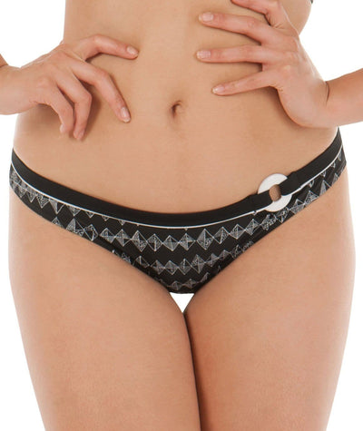 Curvy Kate Euphoria Mini Brief - Monochrome Swim