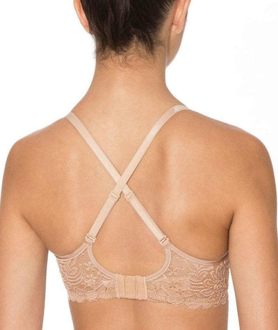 Triumph Gorgeous Mama Lace Maternity & Nursing Bra - Nude - Back - 2