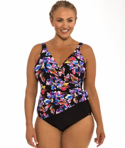Capriosca Tropics Crossover One Piece Swim