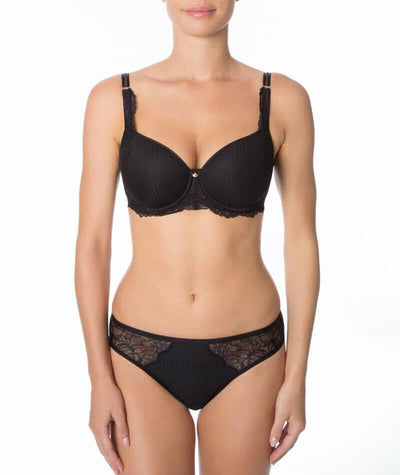 Florale Peony Spacer Bra - Black - Model