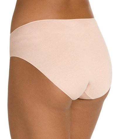 Jockey No Panty Line Promise Bamboo Naturals Hi Cut Brief - Dusk - Back