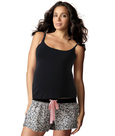 hotmilk My Everyday Camisole - Black - Model - Front