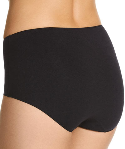 Jockey No Panty Line Promise Bamboo Naturals Full Brief -Black Knickers