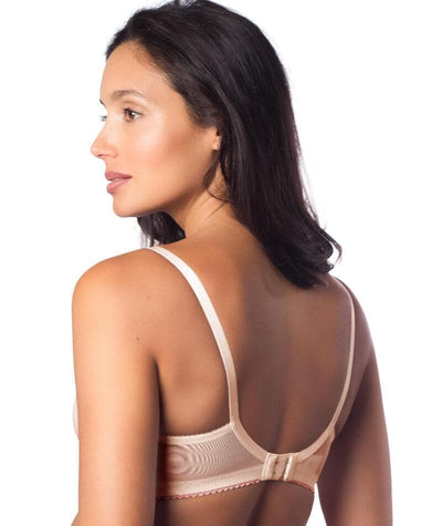 Hotmilk Show Off Luxe Full Cup Maternity & Nursing Bra - Silver Peony - Back