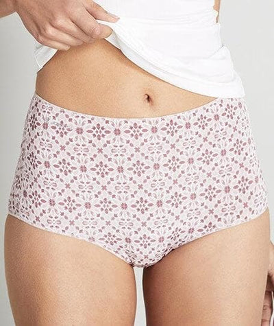 Jockey No Panty Line Promise Full Brief - Kaleidoscope - Front