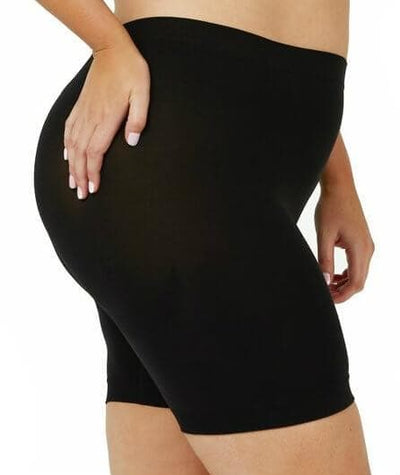 Sonsee Anti Chaffing Shapewear Short Shorts - Black - Side
