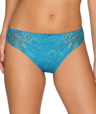 Prima Donna Oriental Night Briefs -Summer Blue Knickers S