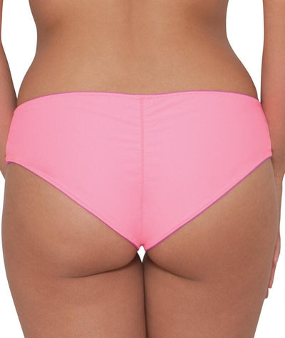 "Curvy Kate Peachy Pairs Reversible Short - Pink / Flamingo ""Back"""