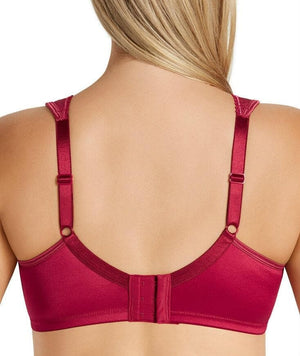 Playtex 18 Hour Ultimate Lift & Support Wirefree Bra - Aramature Red - Front