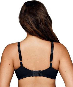Playtex Side Support and Smoothing Minimiser Bra - Black/ Soft Taupe Bras 12C