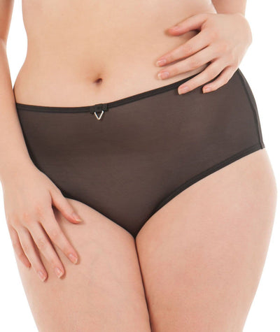Curvy Kate Victory Short - Black Knickers 8
