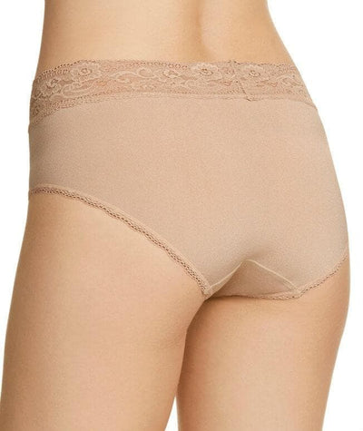 Berlei Barely There Deluxe Boyleg Brief - Nude - Back