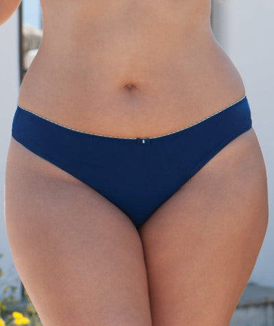 Curvy Kate Smoothie Soul Brazilian Brief - Navy