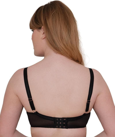 "Scantilly Lavish Bra - Black ""back"""