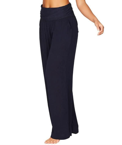 Sea Level Plains Folded Band Beach Pant - Night Sky Navy - Side