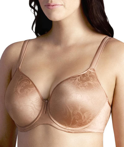 Berlei Lift and Shape T-Shirt Underwire Bra - Pearl Nude - Side