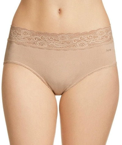 Berlei Barely There Deluxe Boyleg Brief - Nude - Front