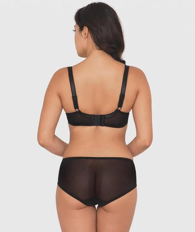 Curvy Kate Princess Short Knickers - Black Knickers