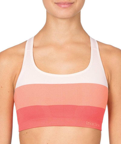 Triumph Triaction Seamfree Crop Top Bra - Pink Bras 8