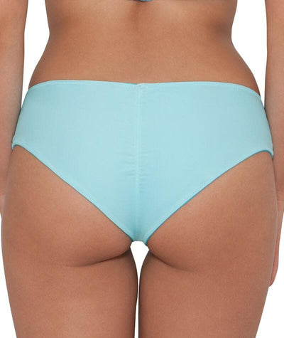 "Curvy Kate Peachy Pairs Reversible Short - Indigo / Aqua ""Back"""