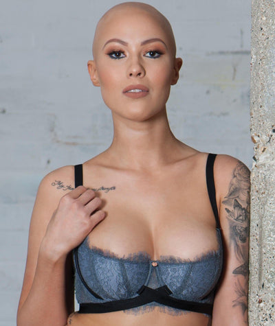 Scantilly Captivate Half Cup Bra - Slate Bras