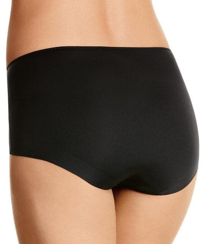 Jockey No Panty Line Promise Next Generation Microfibre Full Brief - Black Knickers