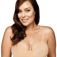 Playtex Ultralight Illusion Neckline Underwire Bra - Nude